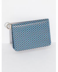 Free People - Polly Perforated Clutch - Lyst