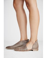 Free People Royale Flat By Fp Collection - Grey