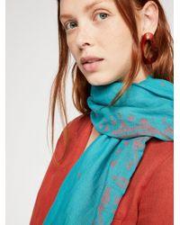 Free People - Jamdani Handloom Cotton Scarf - Lyst