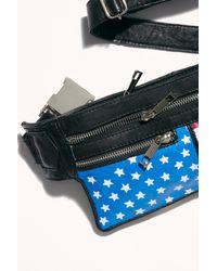 Free People Fp X Pelechecoco Ash Belt Bag - Black