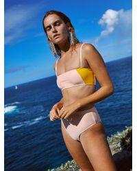 Free People - Lauren Bikini Top By Ellejay - Lyst