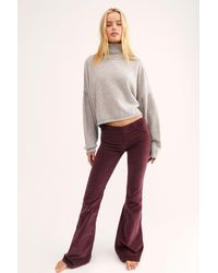 Free People Pull On Corduroy Flare By We The Free - Multicolour
