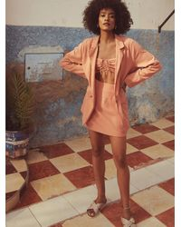 Free People Summer State Of Mind Dress Set By Endless Summer - Brown