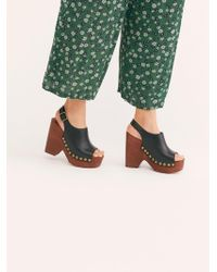 Free People - Walk The Line Clog - Lyst