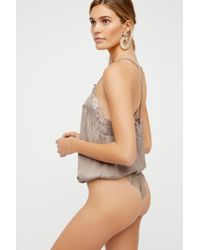 Free People Hbd Bodysuit By Intimately - Multicolor