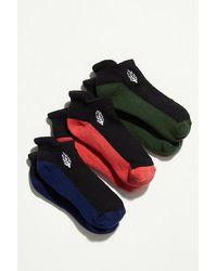 Fp Movement Movement Trainer Sock Color-block 3-pack - Black