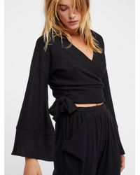 Free People - Wrap Me Up Pullover - Lyst