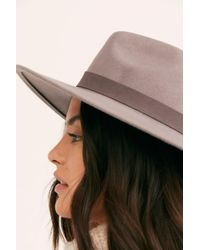 Free People - Beaumont Suede Band Felt - Lyst