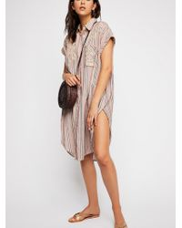 Free People - One Fine Day Embroidered Blouse - Lyst