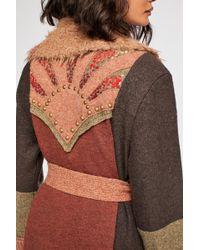 Free People Sunray Sweater Coat - Multicolor
