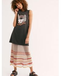 Free People - Dancing Outlaw Organic T-shirt Dress By Spell And The Gypsy Collective - Lyst
