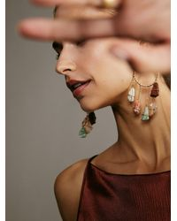 Free People Ariana Ost Garland Earrings - Multicolor