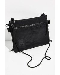 Topo Topo Carabiner Shoulder Bag - Black