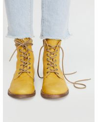 Free People - Portland Lace-up Boot - Lyst