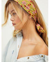 Free People Maelu Designs Headscarf - Multicolor
