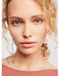 Free People - Mixed Orbit Earrings - Lyst