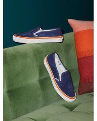 Free People - Slip On Striped Sneaker - Lyst