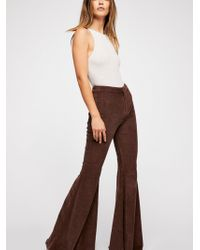 Free People - Just Float On Cord Flare - Lyst