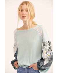 Free People - Casual Clash Top - Lyst