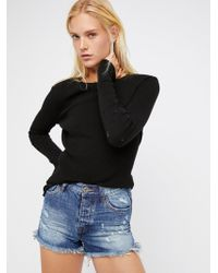 Free People - Oneteaspoon High Waist Bonita Short - Lyst