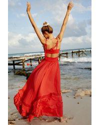 Free People Santa Maria Maxi Dress By Endless Summer - Pink