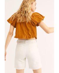 Free People Fp One Rowan Cutoff Shorts - Multicolour