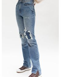 Free People My Own Lane Jeans - Blue