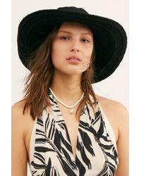 Free People - Dana Crochet Bucket Hat - Lyst