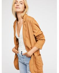 Free People - Simply Perfect Blazer - Lyst