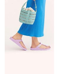 Free People Eva Gizeh Birkenstock Sandal - Blue