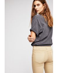 Free People Penny Pull-on Flare Jeans By We The Free - Green