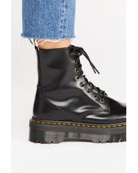 Free People Dr. Martens Jadon Lace-up Boots - Black