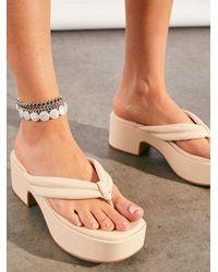 Free People Finley Platform Sandals - Multicolor