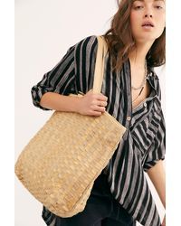 Free People Ren Woven Tote By Fp Collection - Multicolour