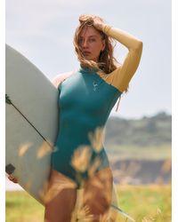 Free People Gaviotas Surf Suit - Blue