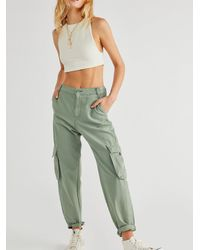 Free People Levi's Loose Cargo Pants - Green