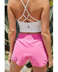 Free People Sting Like A Bee Short By Fp Movement - Pink