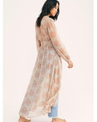 Free People Valerie Duster - Natural