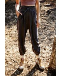 Free People Halfzies Trousers By Fp Movement - Multicolour