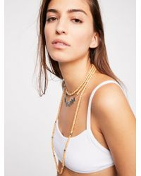 Free People - Ladolce Layering Necklace - Lyst
