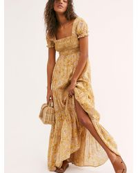 Free People Getaway Midi Dress - Multicolour