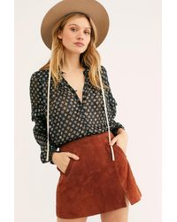 Free People Midnight Memory Skirt - Multicolour