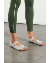 ToeSox Moonboot Half Toe Grip Socks - Grey
