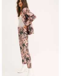 Free People Scotch Printed Double Breasted Suit By Scotch & Soda - Multicolour