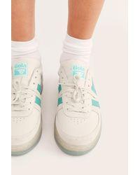 Free People Grandslam '89 Sneakers By Gola - White