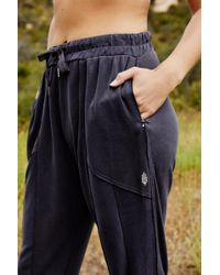 Free People Trekking Out Jogger By Fp Movement - Black