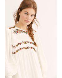 Free People - Pasadena Mini Dress - Lyst