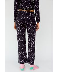 Free People Heritage Heart Pjs By Only Hearts - Blue