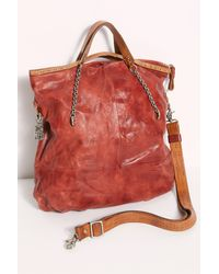 Free People A.s.98 Henny Leather Tote By A.s. 98 - Red