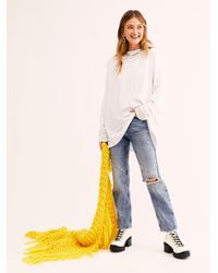 Free People We The Free Be Free Tunic - White